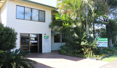 Harrison Chiropractic clinic, in Bangalow Road, Ballina